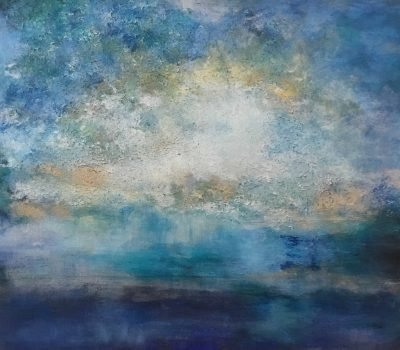 Sky Dance By Karen Hutchison Acrylic & Mixed Mediums