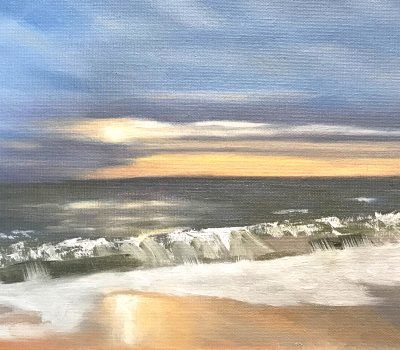 Sunrise At Cape Henlopen - Oil