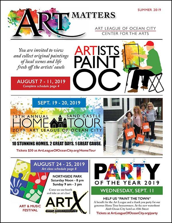 Ocean City Center for the Arts   Art League of Ocean City