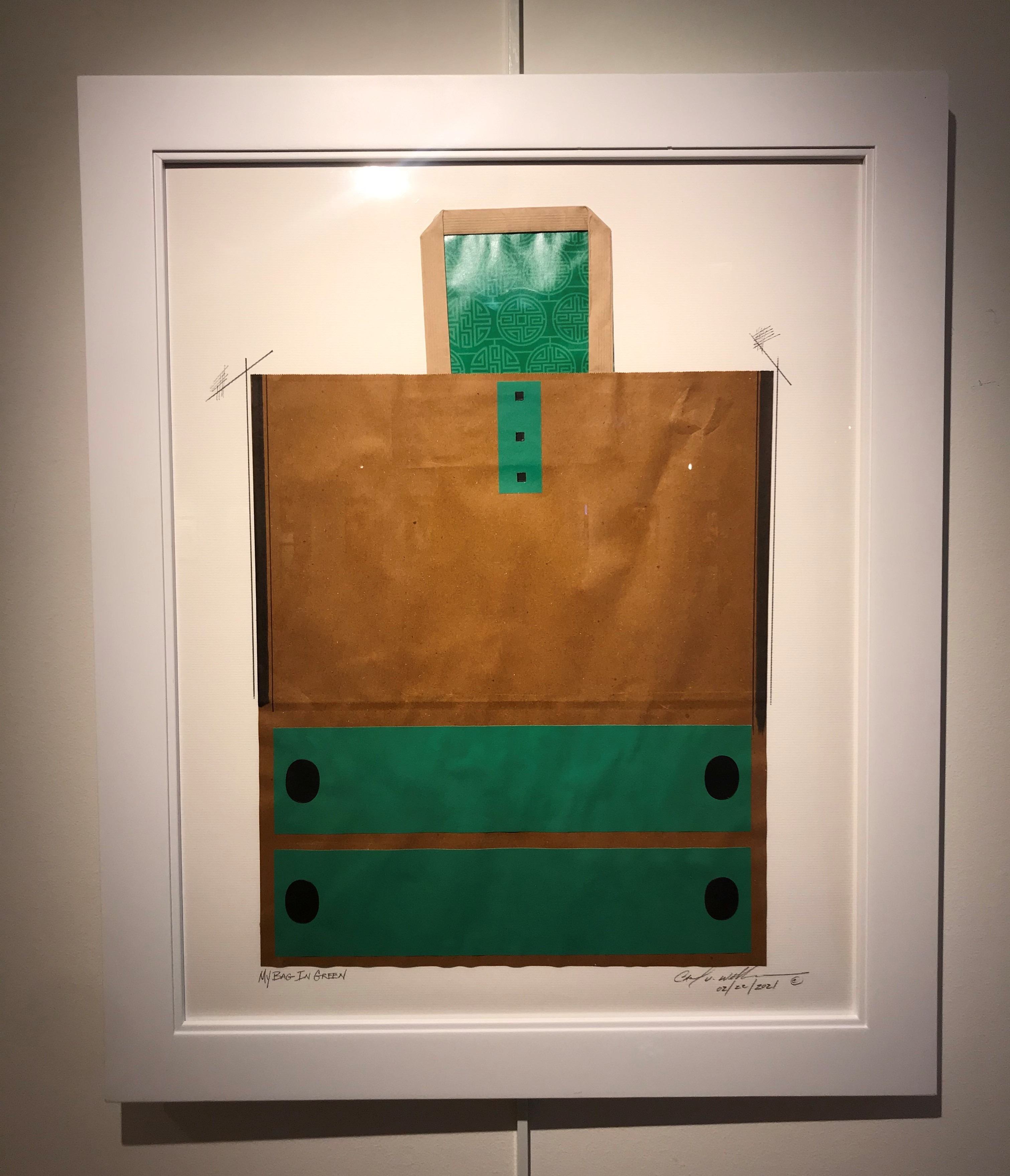 Carl Vincent Williams 5, My Bag In Green