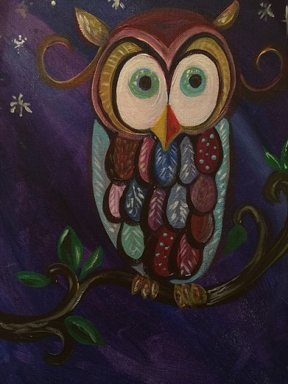10/13/2018 | Kids and Canvas: Owls at Night | OC Events