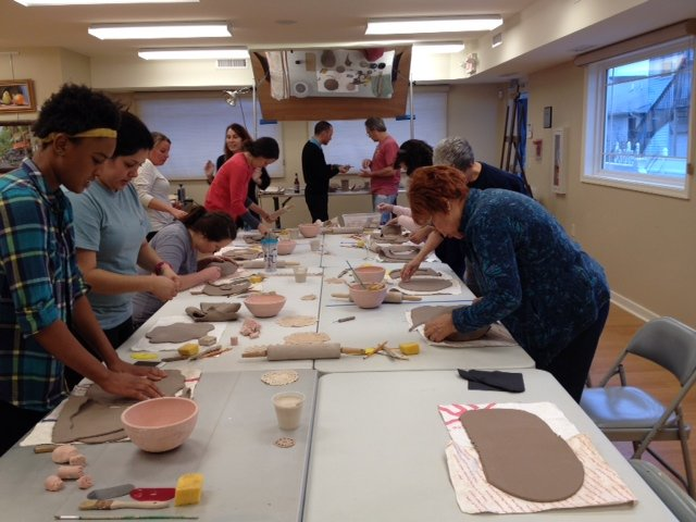 Tuesday Morning Adult Pottery